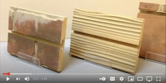 Watch Our New Video About Textured 3D Designer Slatwall Panels!