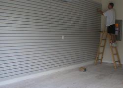 Slatwall Installation