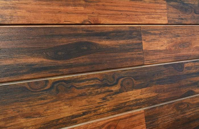 Rosewood Textured Woodgrain Slatwall