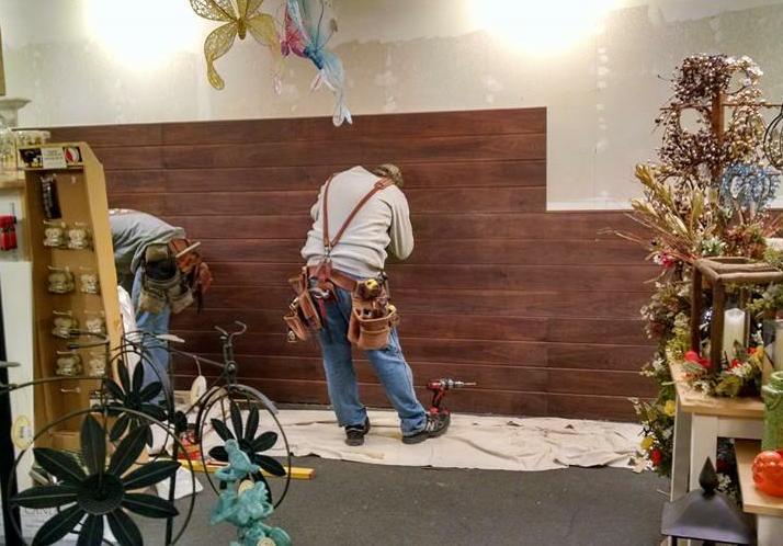 Slatwall Panel Installation