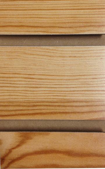 Knotty Pine Melamine Slatwall