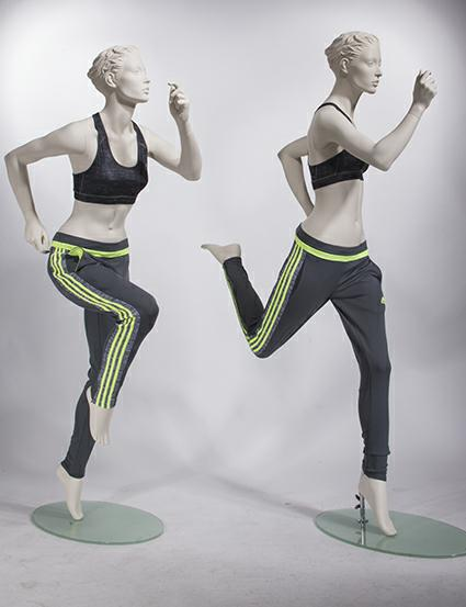 female-running-mannequins