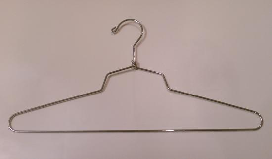 Chrome Steel Blouse Shirt Hangers