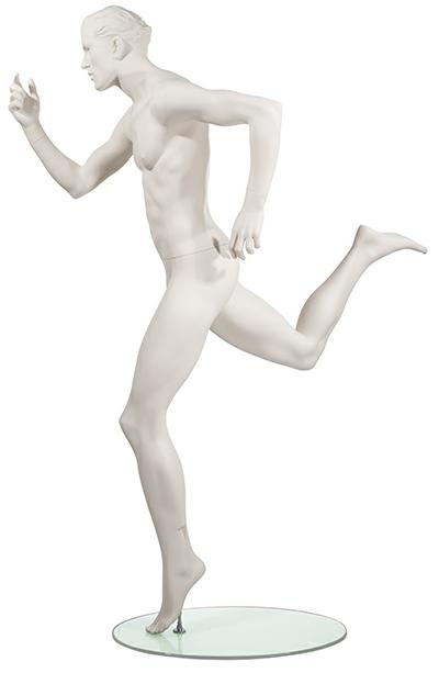 Athletic Male Mannequin - Sprinting