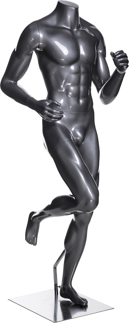 Athletic Male Mannequin - Running