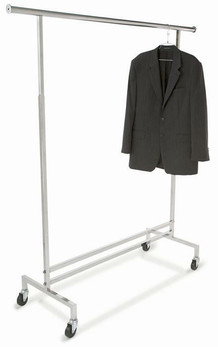 Rolling Racks Adjustable Height Clothing Rack
