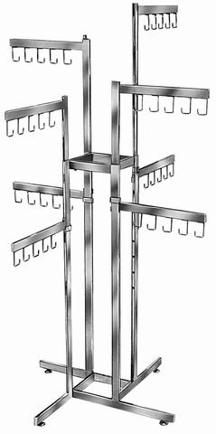 4 Way 8-Straight Arm Racks