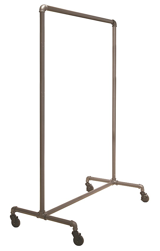 Pipe Frame Rolling Rack- 51 inch