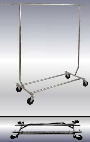 Collapsible Rolling Rack