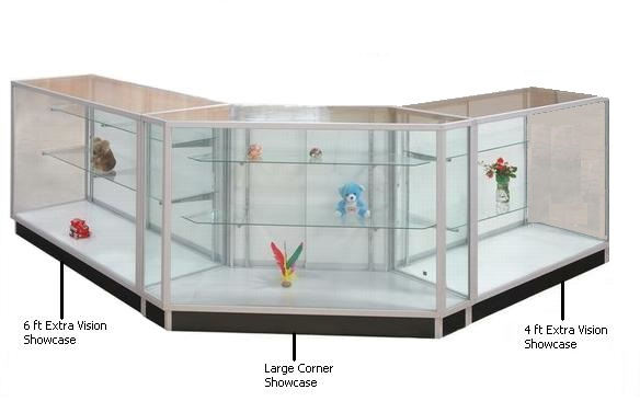 showcases u0026 retail glass display cases