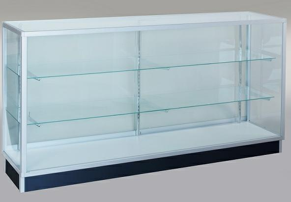 Extra Vision Showcase 6 Ft Glass Display Case With