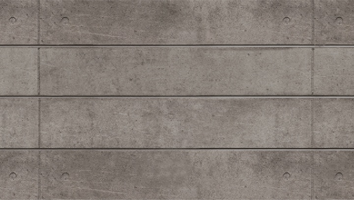 Textured Cement Panels : Natural grey finished concrete slatwall designer d