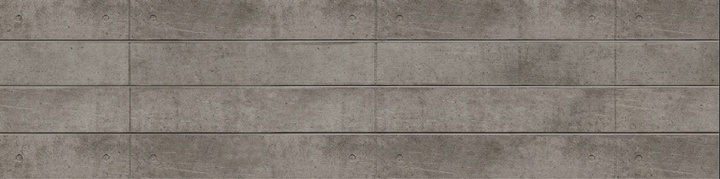 Natural Finished Concrete Slatwall Panel