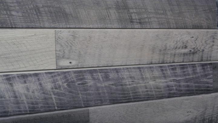 Cool Sawtooth Oak Woodgrain Slatwall Panels