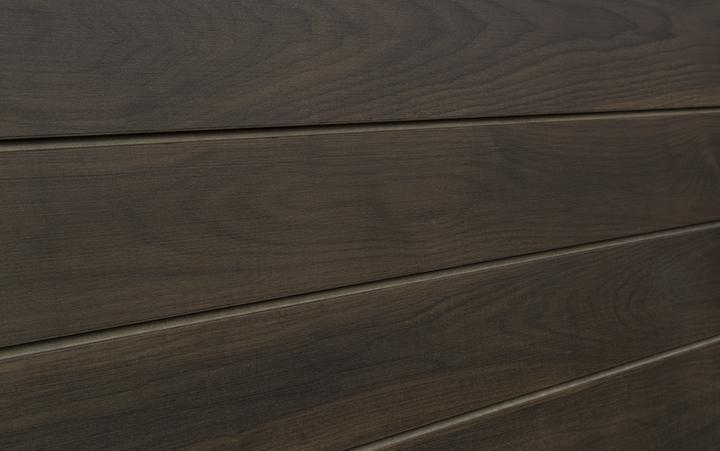 Walnut Slatwall Textured Woodgrain Slatwall Panels With