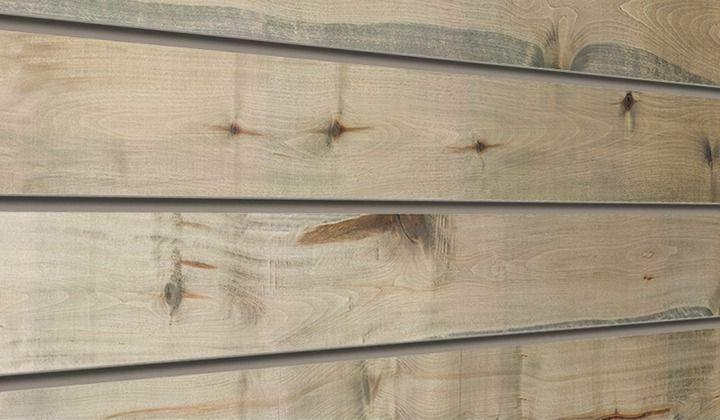 Driftwood Textured Woodgrain Slatwall Panels Distressed