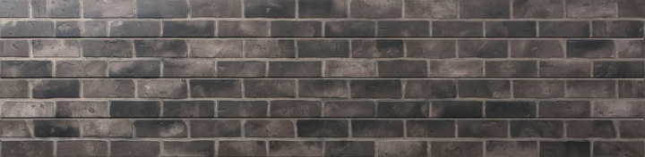 Grey Brick Slatwall Panel