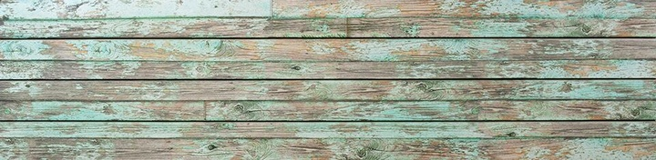 Green Old Painted Wood Slatwall