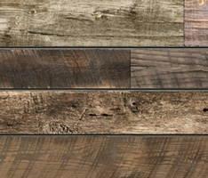 Textured Woodgrain Slatwall Panels