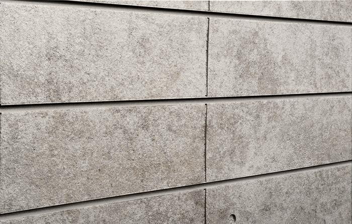 Sun Baked Finished Concrete Slatwall Designer 3d
