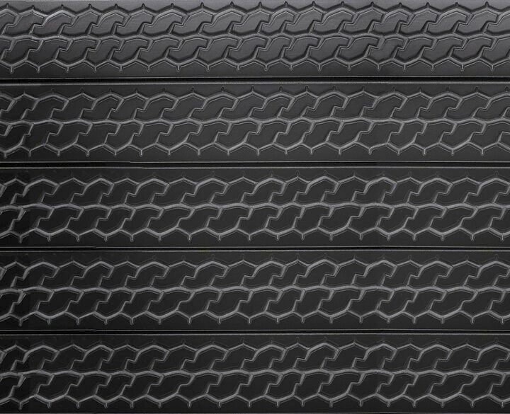 Tire Tread Slatwall Textured Slatwall Panels With Car