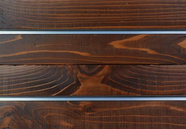 Red Cedar Slatwall Panels Textured Woodgrain Slatwall