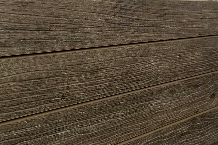 Wood Slat Wall warm weathered wood slatwall - designer old wood textured slatwall
