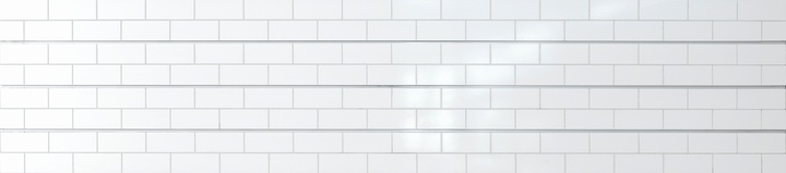 White Subway Tile Slatwall
