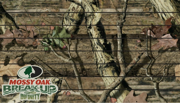 Camo Slatwall Featuring the Mossy Oak ® Break-Up Infinity ® pattern