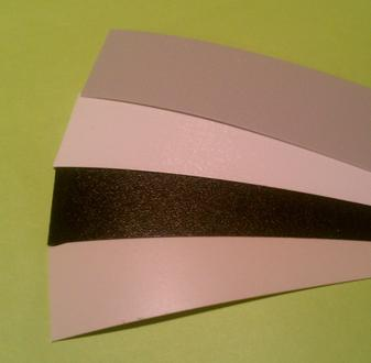 Slatwall Groove inserts - color strips