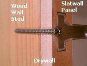 Slatwall Installation Instructions How To Cut Hang Amp Install Slatwall Panels